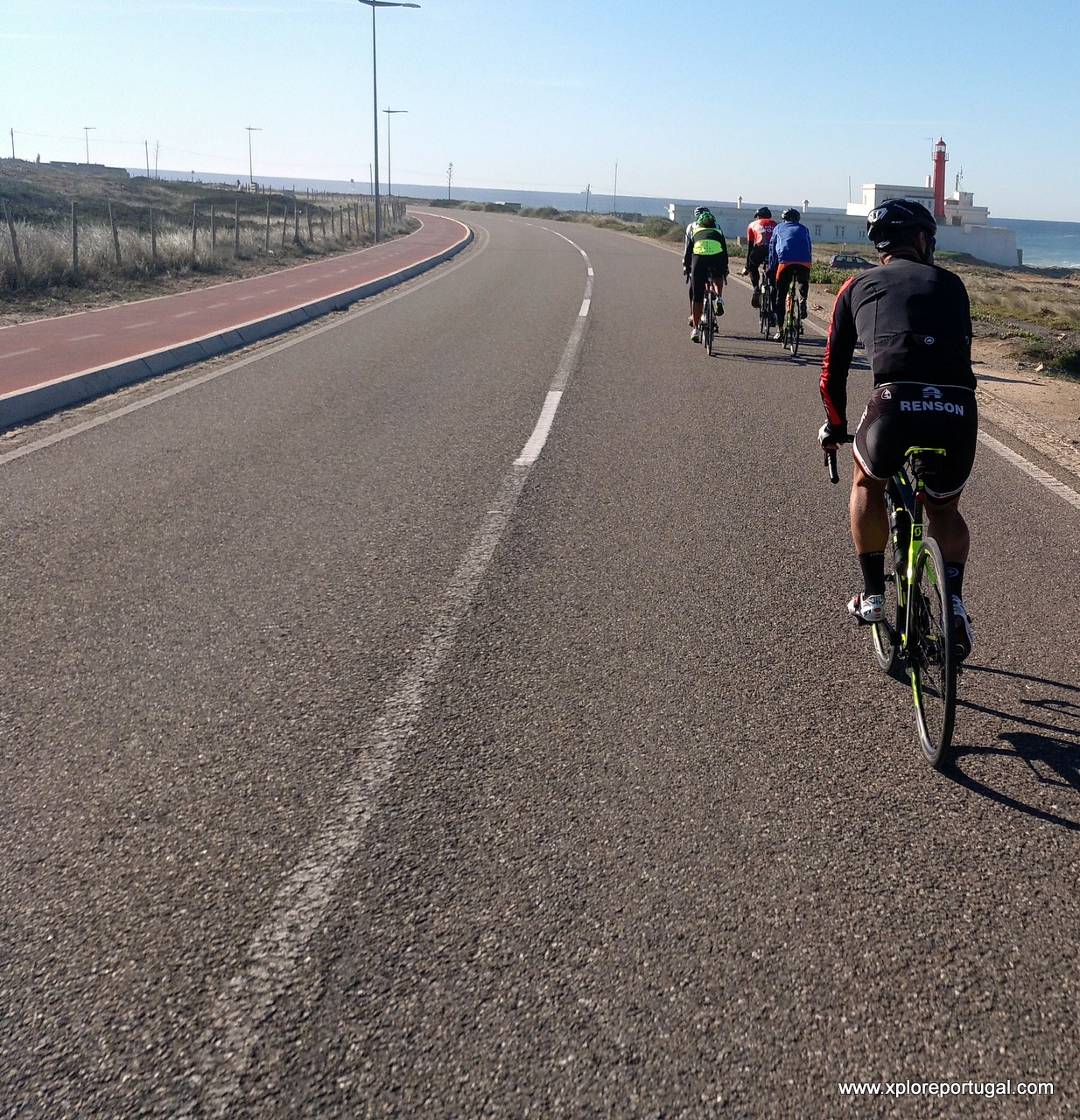 Riding in Guincho with Xplore Portugal
