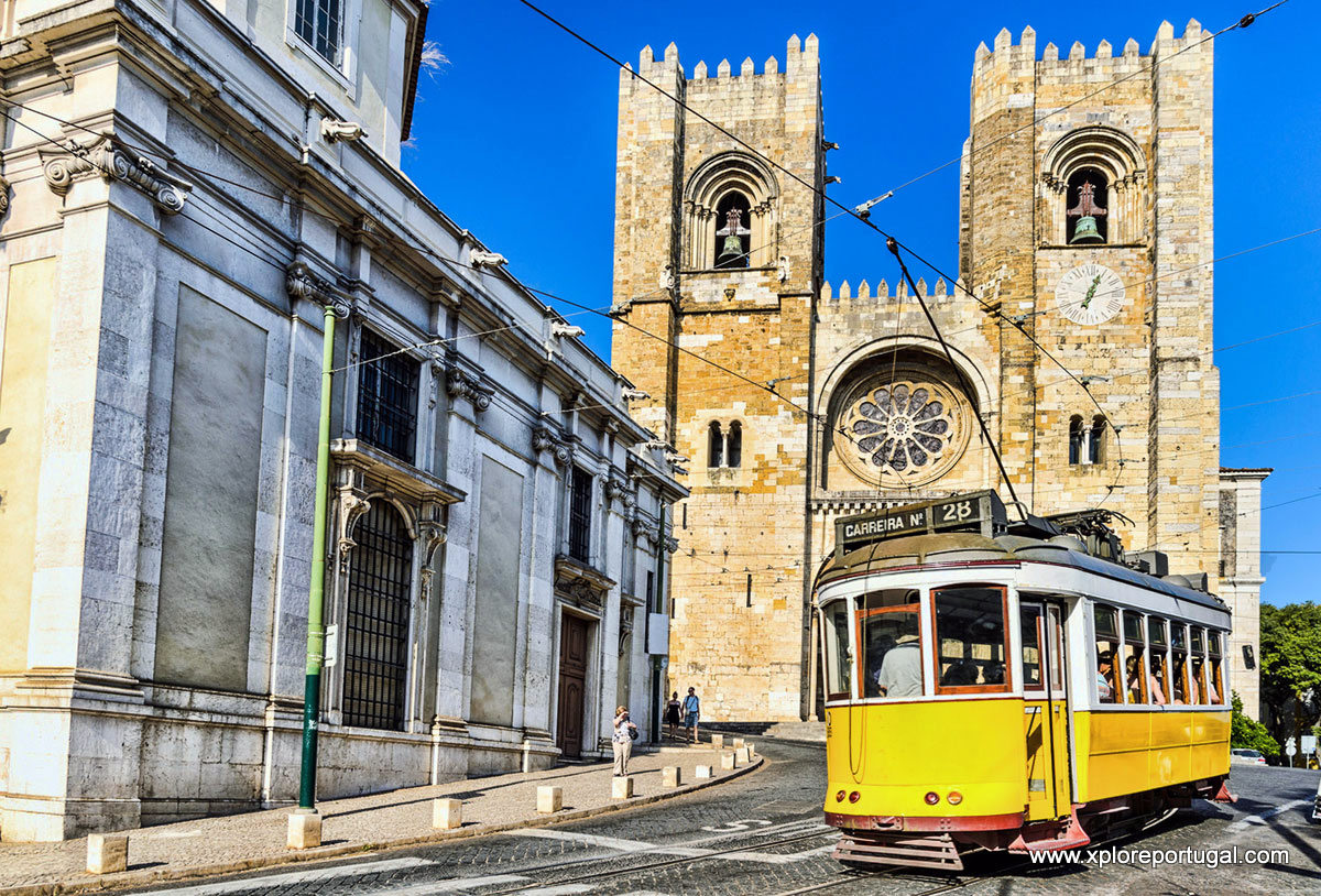 alfama-tram-cathedral with eXplore Portugal